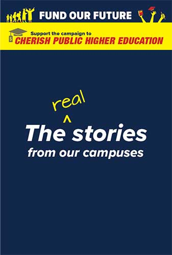 The real stories from our campuses