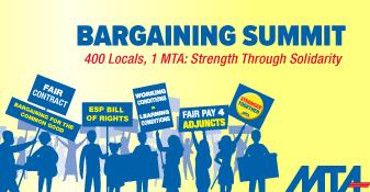 mta bargaining summit