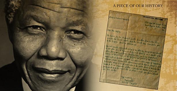 Nelson Mandela MTA Letter