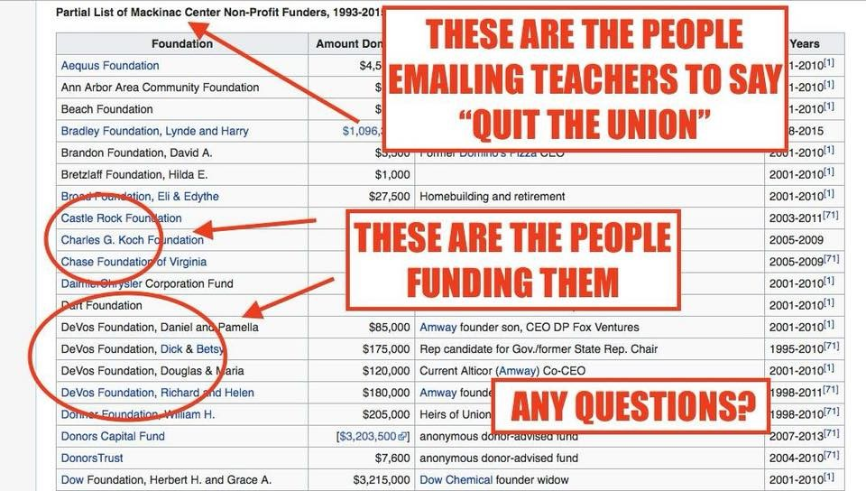 DeVos funding