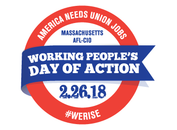 Working People's Day of Action logo