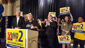 MTA Election Night Victory