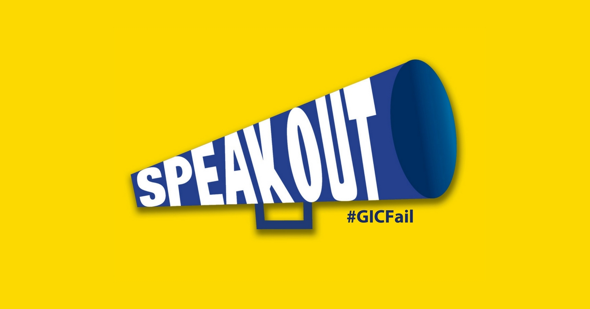 Speak Out About the GIC Vote