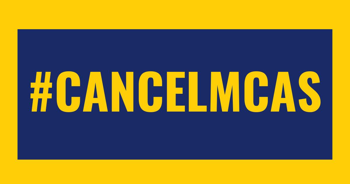 Cancel MCAS