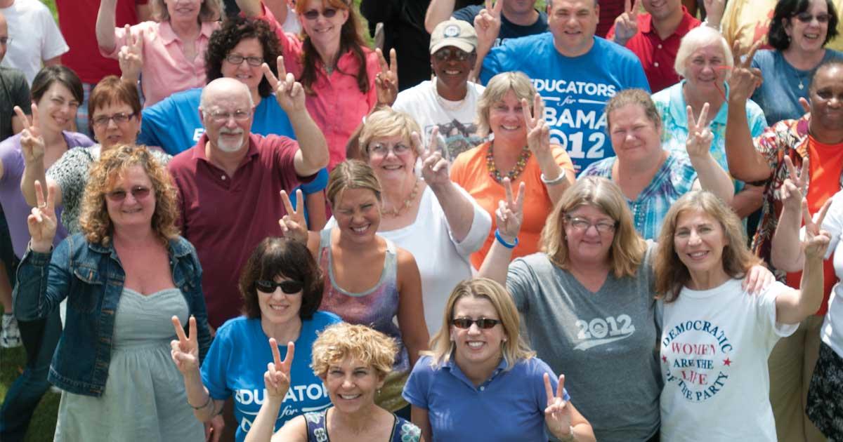 LPAT members at Summer Conference