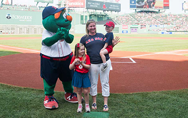 Jennifer Driscoll, MTA Red Sox Most Valuable Educator