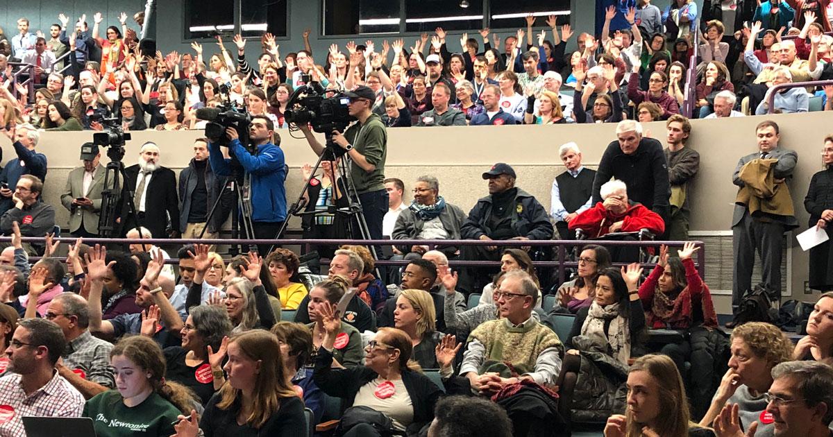 Newton crowd