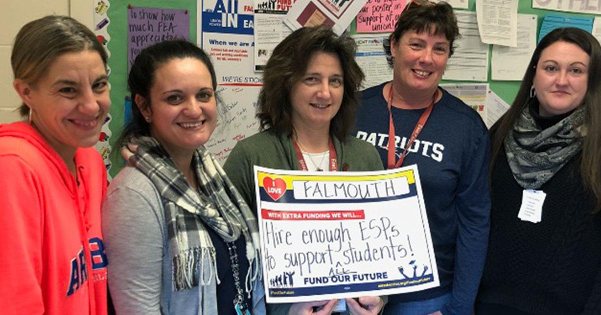 Falmouth educators