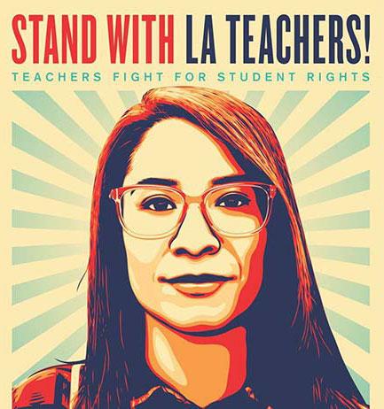 Stand With LA Teachers